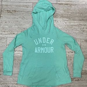 Under Armour lightweight Waffle pullover hoodie